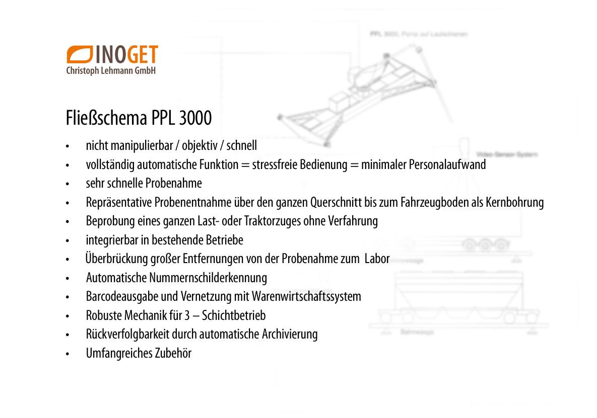 Fließschema PPL 3000