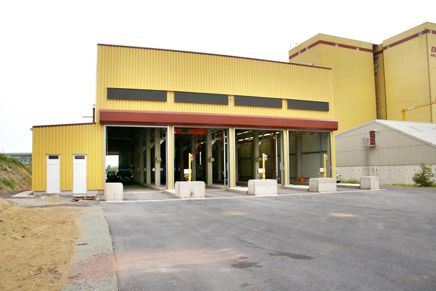 Probenahmegebäude mit Labor und Eingangswaage 4-spurig