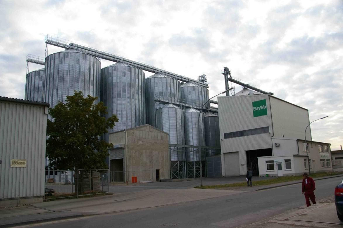 Neubau Getreideanlage BayWa AG Standort Bamberg 2007-2010  Planung / Ausschreibung / Projektüberwachung