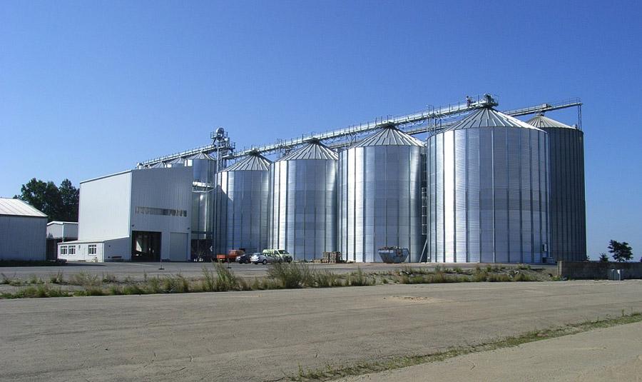 Neubau Getreideanlage BayWa AG Standort Großschirma  Planung / Ausschreibung / Projektüberwachung