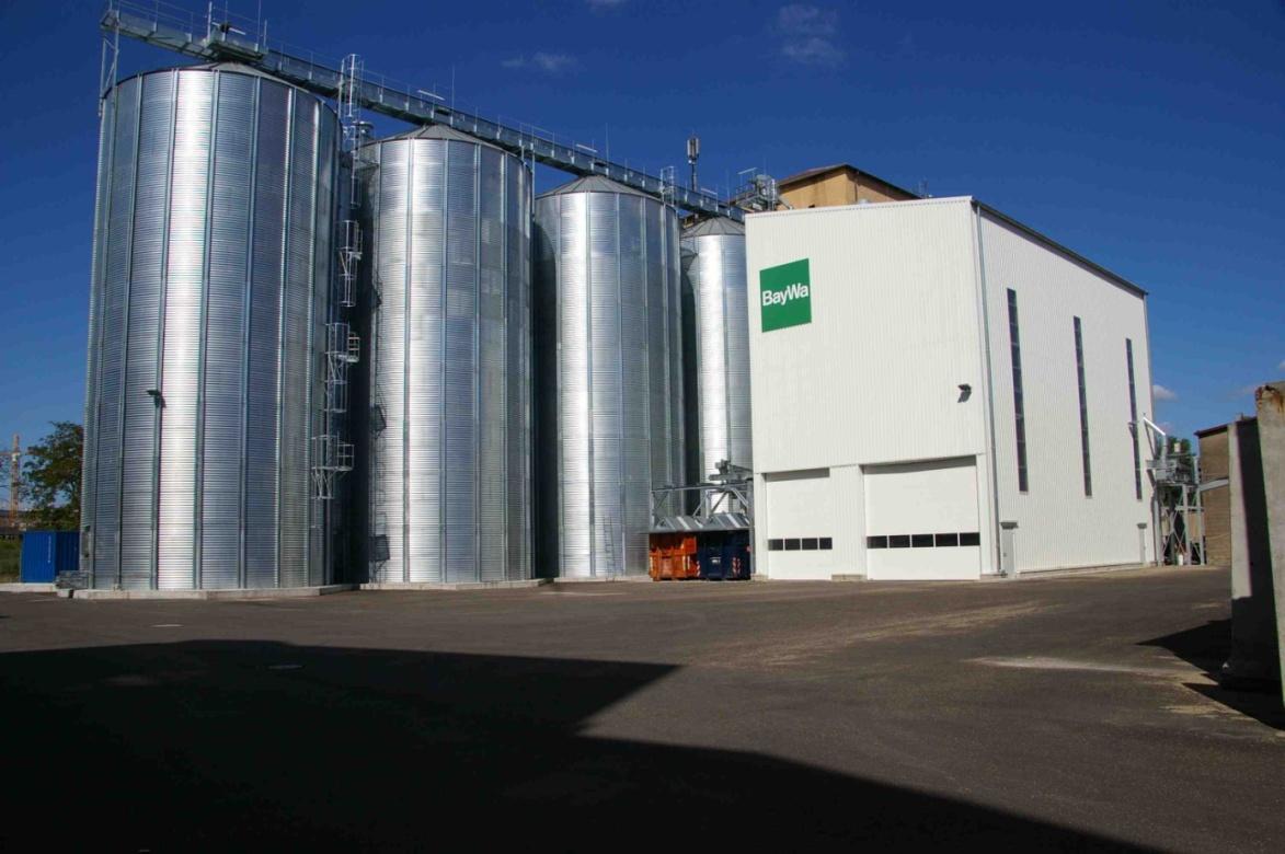 Neubau Getreideanlage BayWa AG Standort Heilbronn 2011  Planung / Ausschreibung / Projektüberwachung
