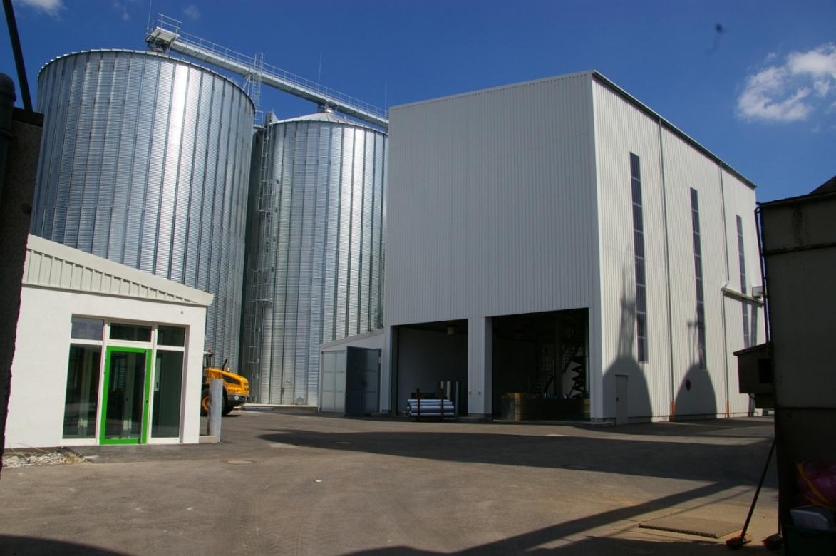 Neubau Getreideanlage BayWa AG Standort Schweinfurt 2011  Planung / Ausschreibung / Projektüberwachung