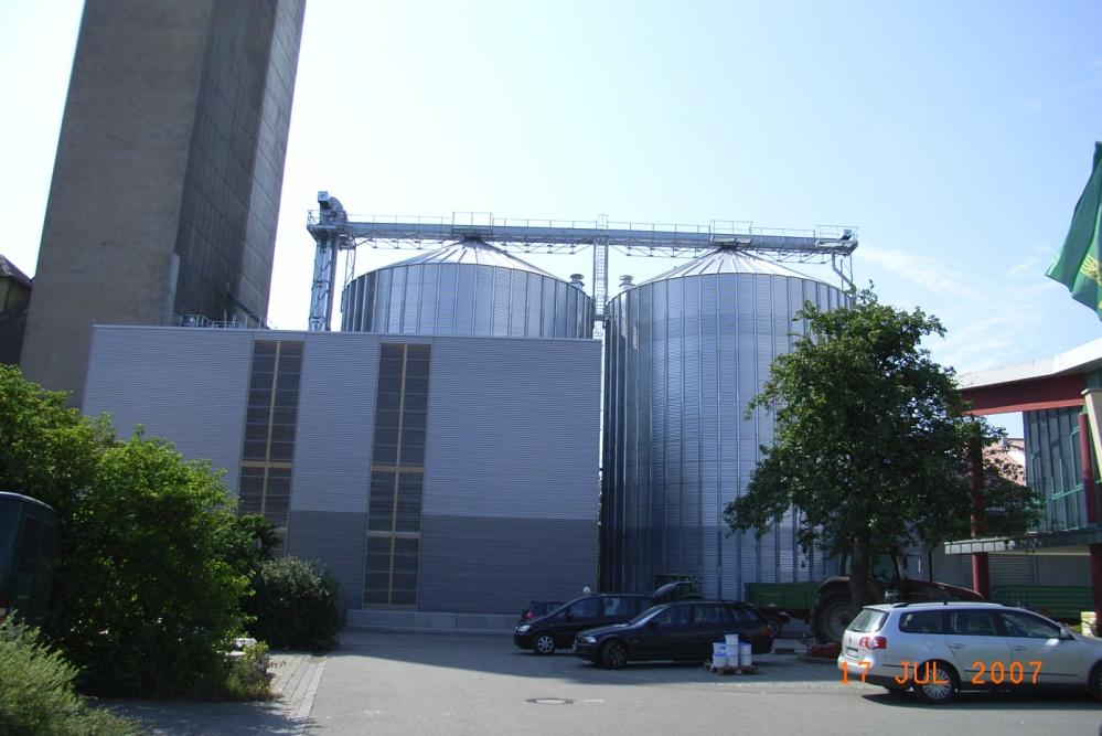 Neubau Getreideanlage LBV Schrozberg  Planung / Ausschreibung / Projektüberwachung