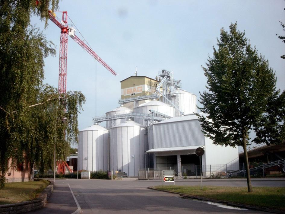 Neubau Getreideanlage BAG Bad Friedrichshall 2004  Planung / Ausschreibung / Projektüberwachung