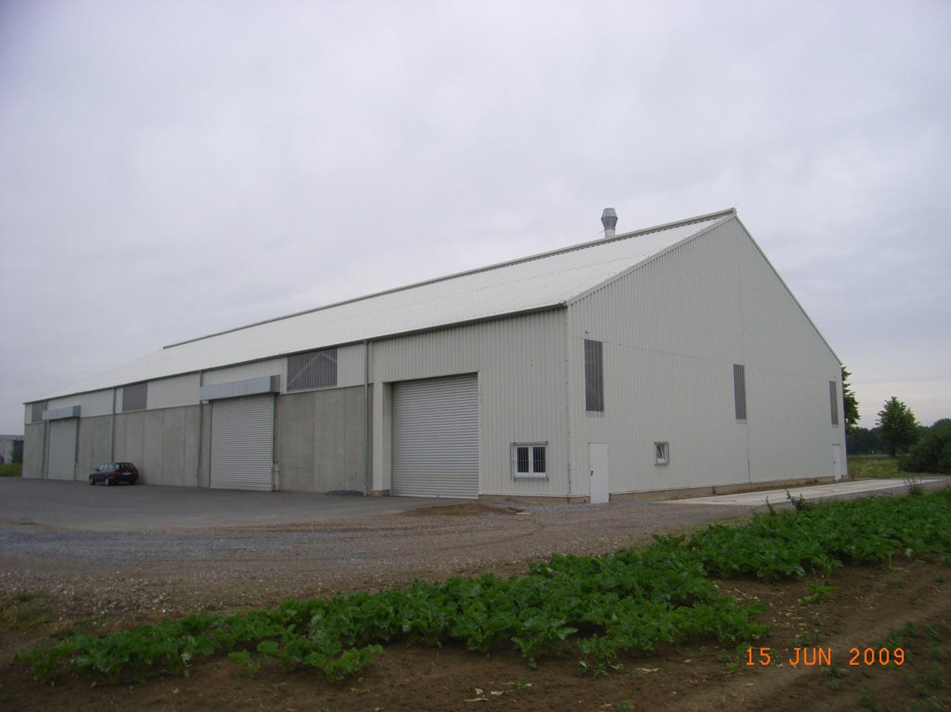 Neubau Lagerhalle Strauss & Overlack Aldenhoven 2006