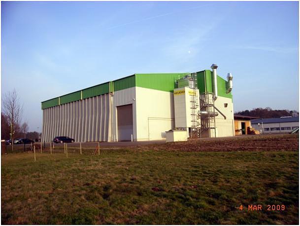 Neubau Lagerhalle Wissingen